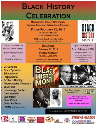 Black History Month at Centre Theater